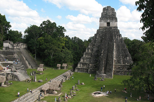 sacred site of Tikal