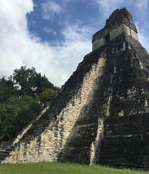 Jaguar Temple at Tikal