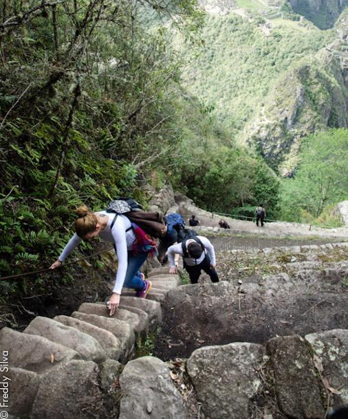 climb huayna picchu