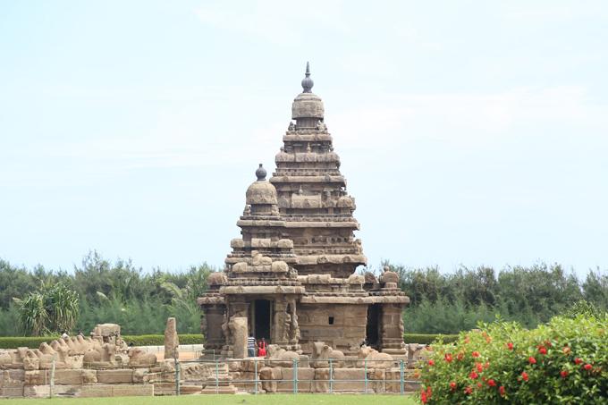 Shore Temple at Mahabalipuram, India