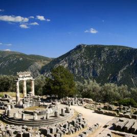Delphi Tholos sanctuary of Athena Pronaia
